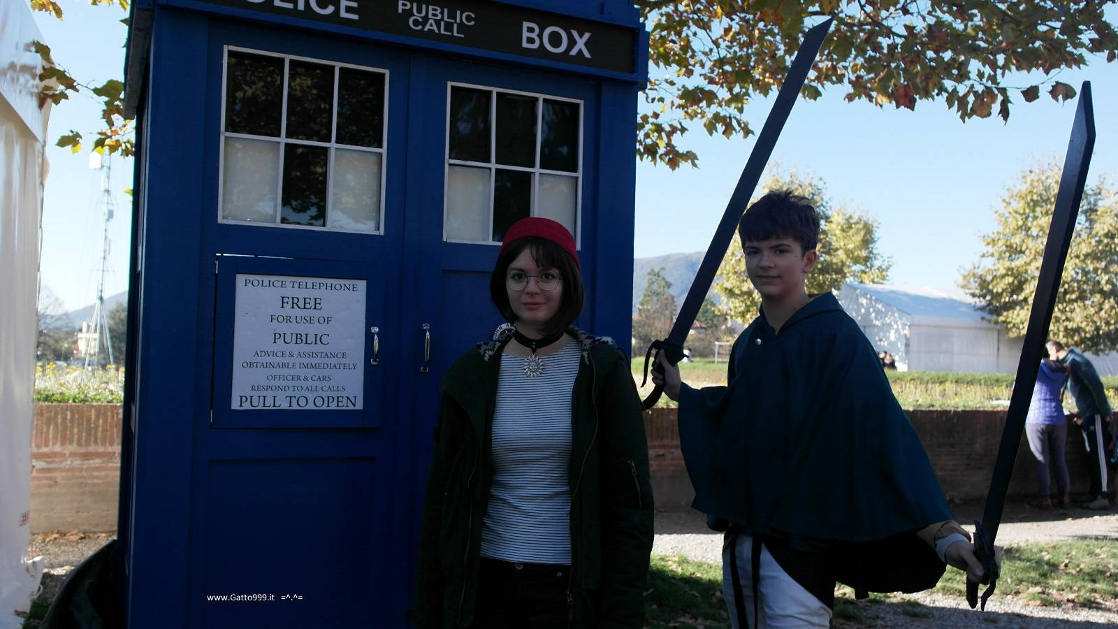 Cosplay Mathilda and Eren - Tardis