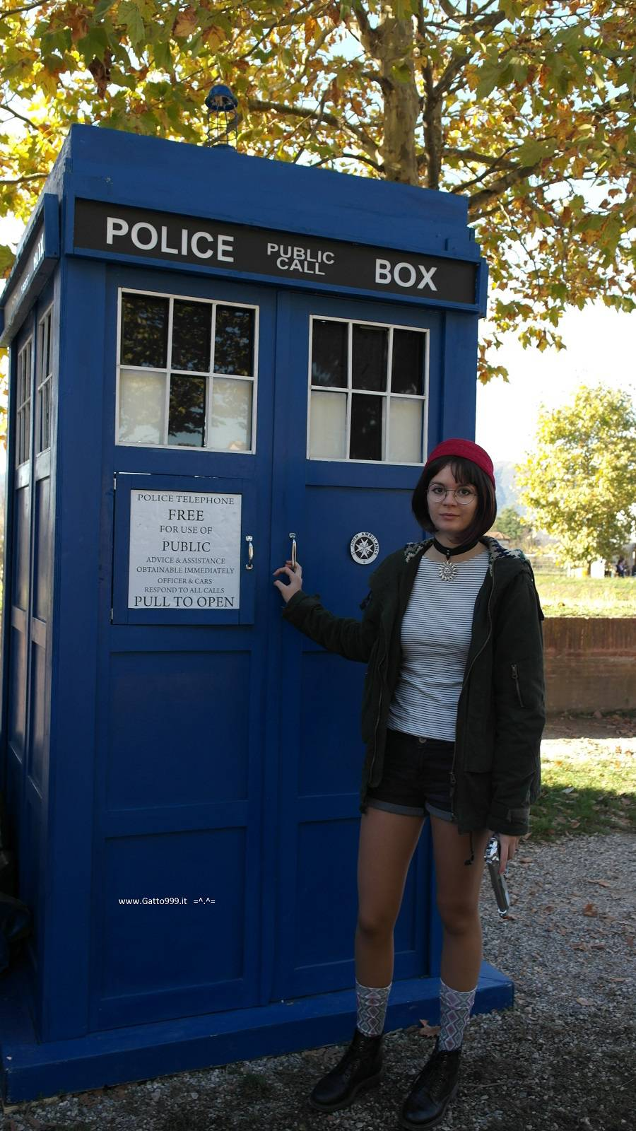 Cosplay Tardis - The new Doctor