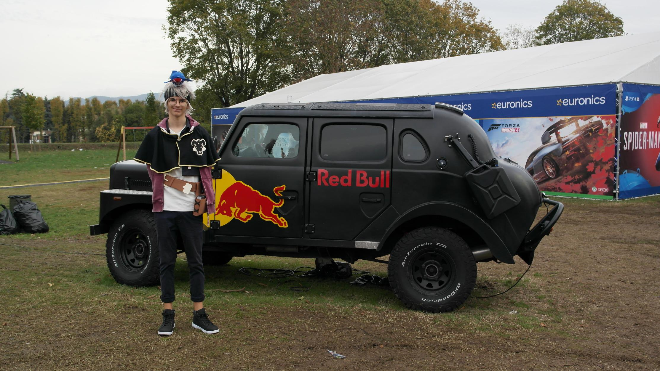 Red Bull Black Car