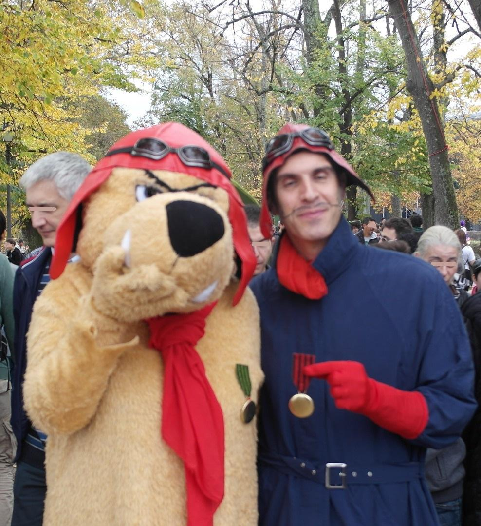 Cosplay Dastardly and Muttley