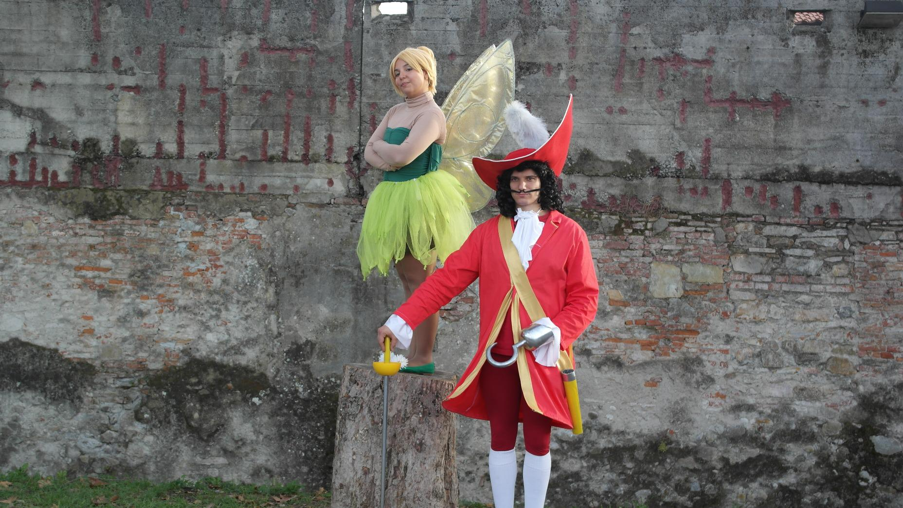 Cosplay Capitan Uncino - Hook and Trilly