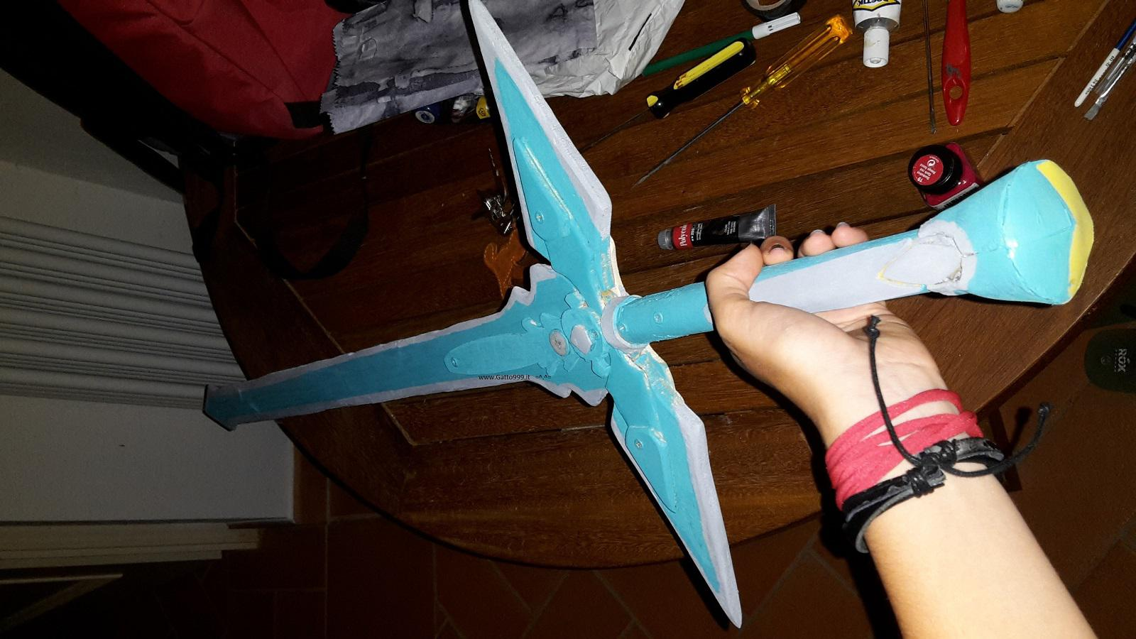 Dark Repulser Sword come fare - howto - tutorial - istruzioni - instructions