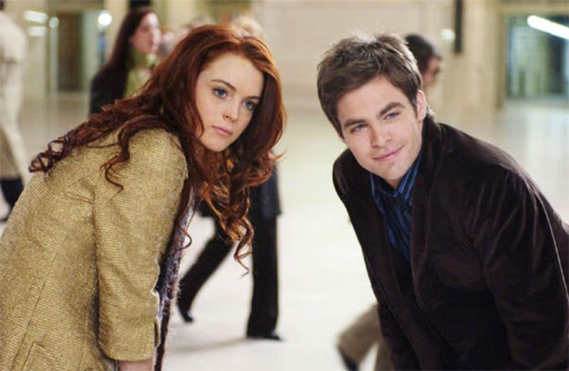 Baciati dalla sfortuna (Just My Luck) - Ashley Albright (Lindsay Lohan) - Jake Hardin (Chris Pine)
