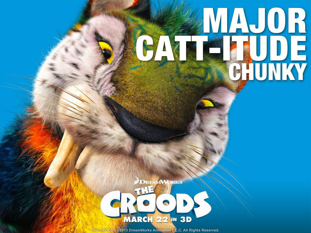 Croods - Major Cat-itude Chunky