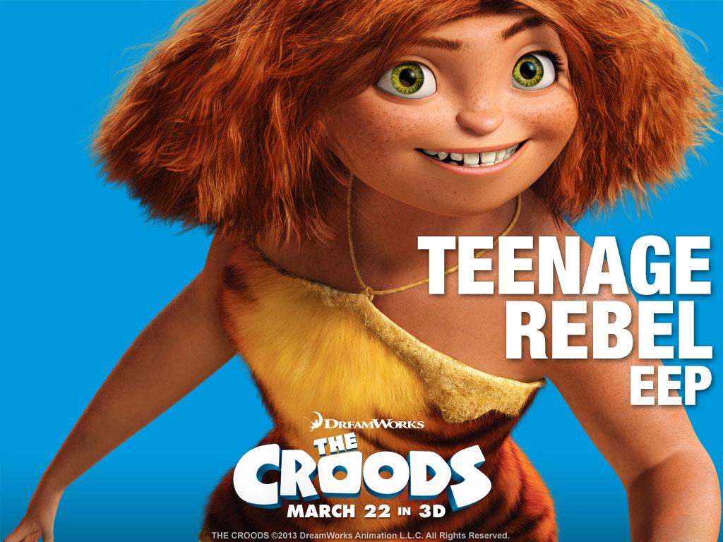 Croods - Eep teenager