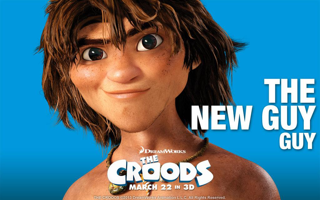 Croods - new guy