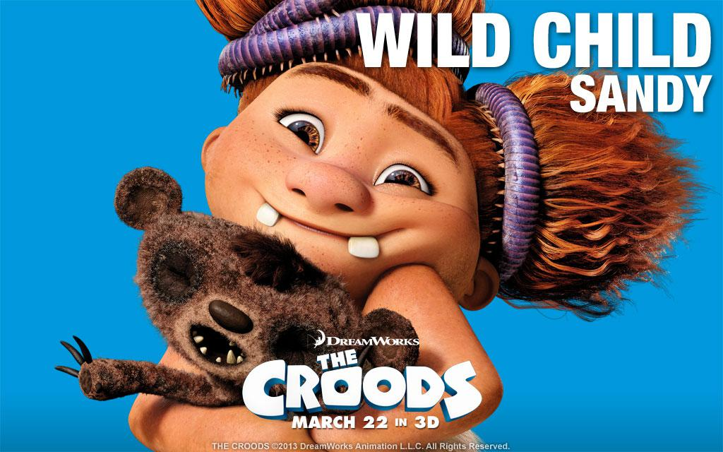 Croods - little Sister Sandy