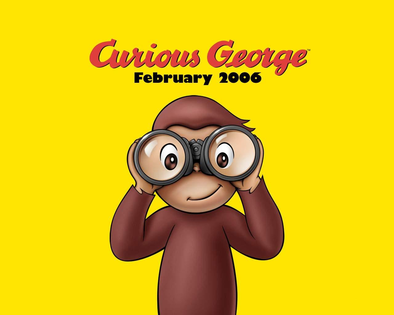 Curious George - scimmia - monkey