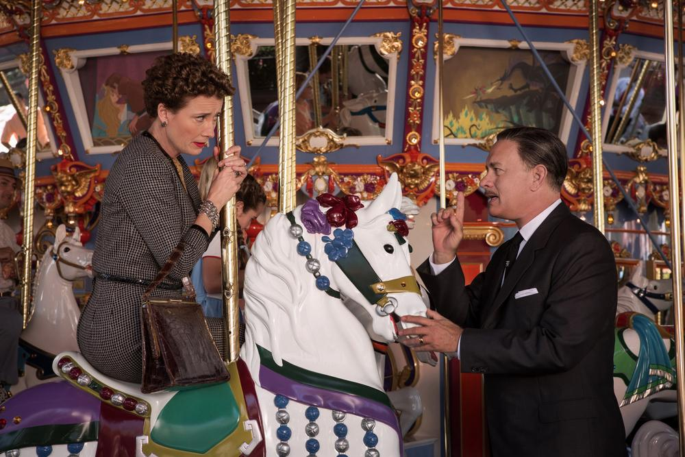 Film - Saving Mr Banks (Disney) - Tom Hanks è Wanter Disney e Emma Thompson è Pamela Lyndon Travers