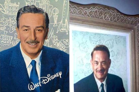 Walter Disney interpretato da Tom Hanks