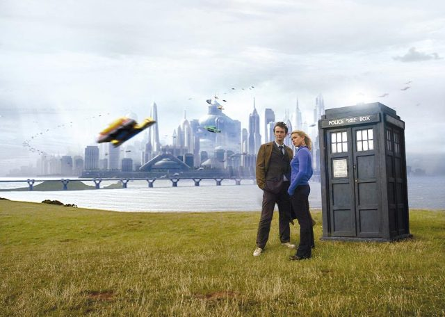 Doctor Who e Rose a New New York ...