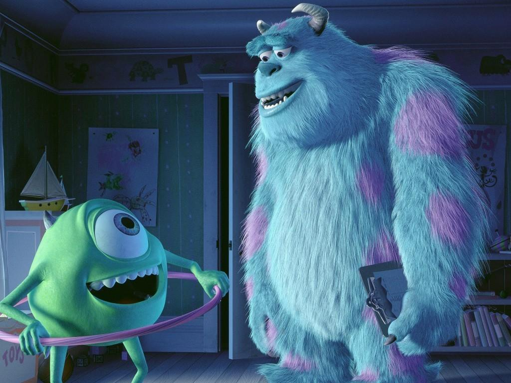Monsters inc - Mike e Sally