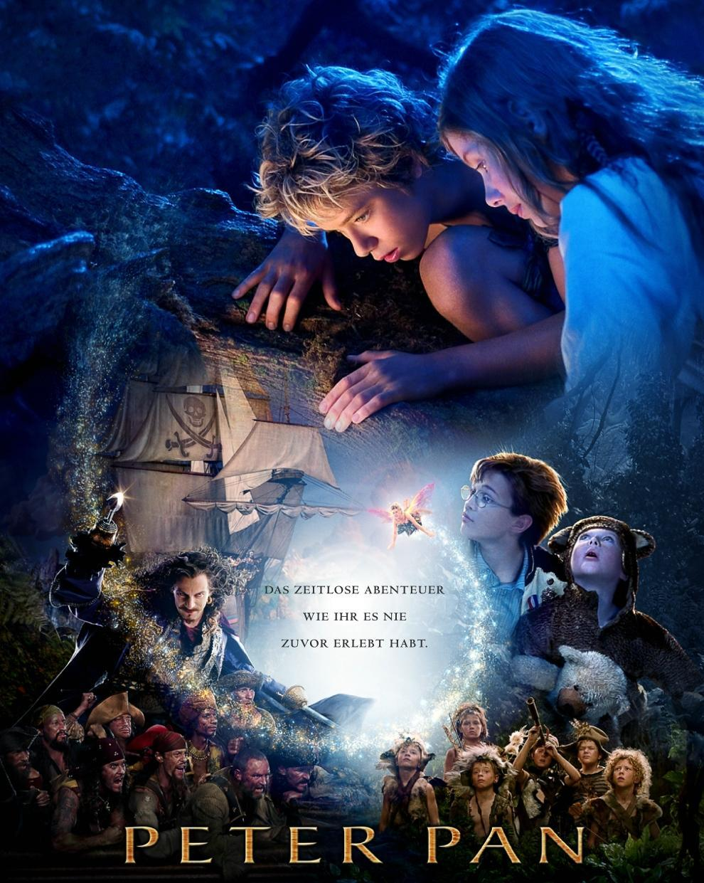 Peter Pan live action cover poster