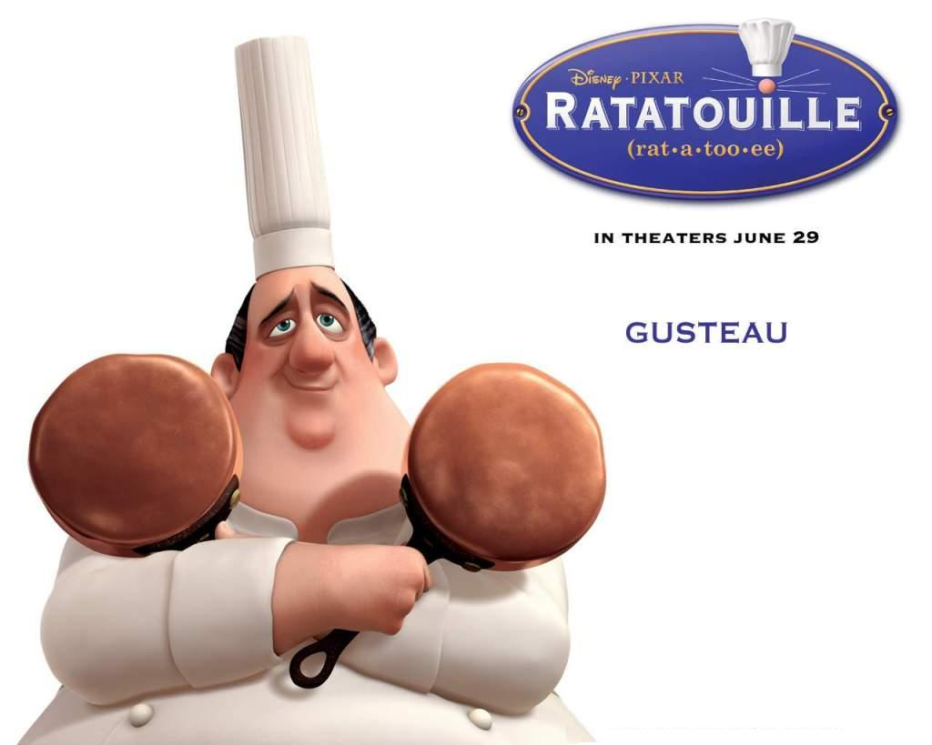 Ratatouille - Cheff Gusteau