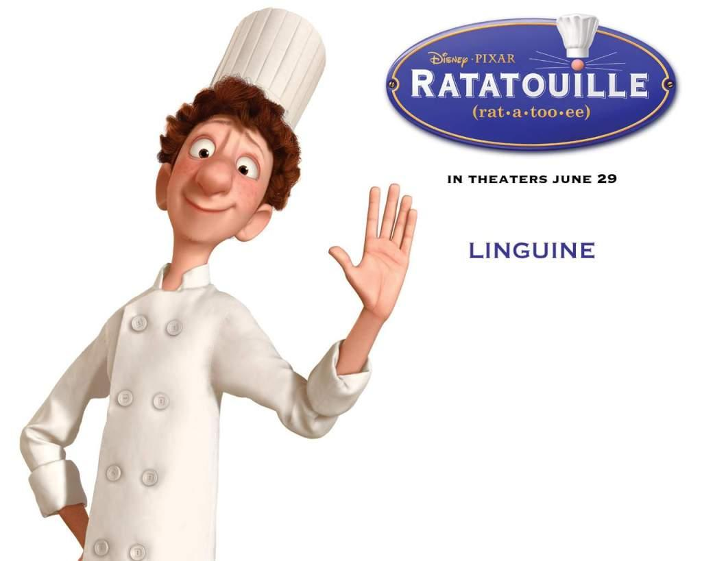 Ratatouille - linguine - Linguini