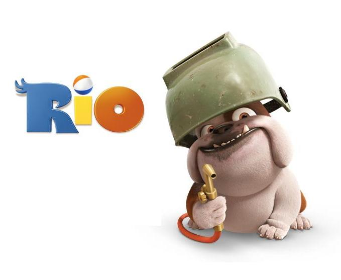 Rio animated Movie 2011