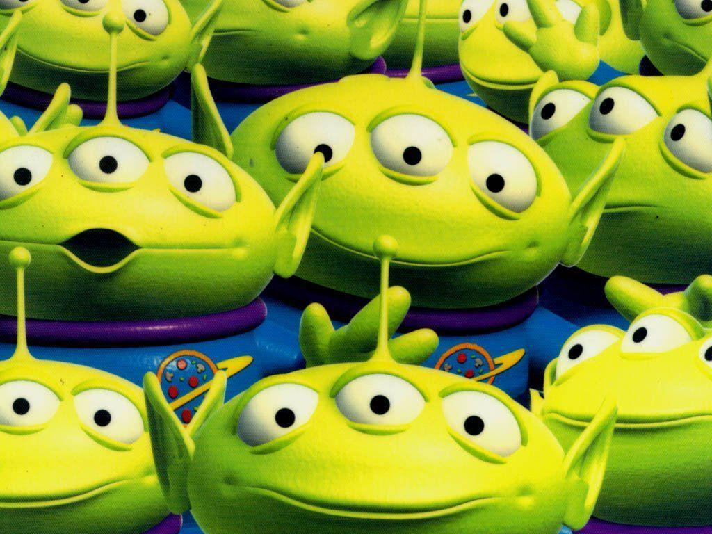 Toy Story - aliens