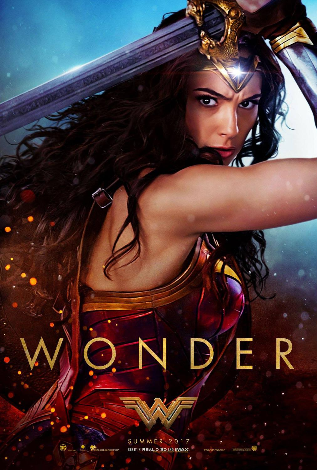Wonder Woman - Gal Gadot - poster