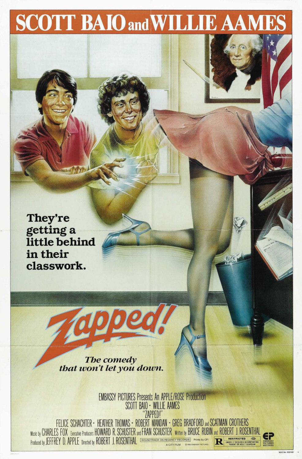 Zapped! - scifi action movie film with superpower