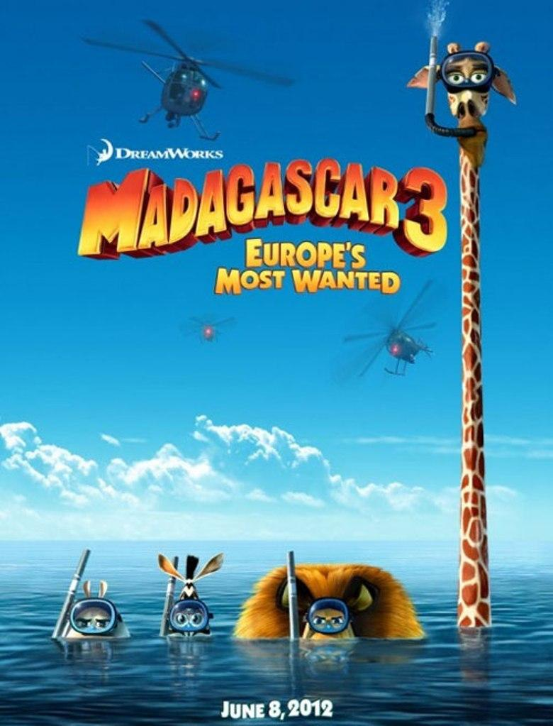 Madagascar 3 - Europe most Wanted - I più ricercati d'Europa