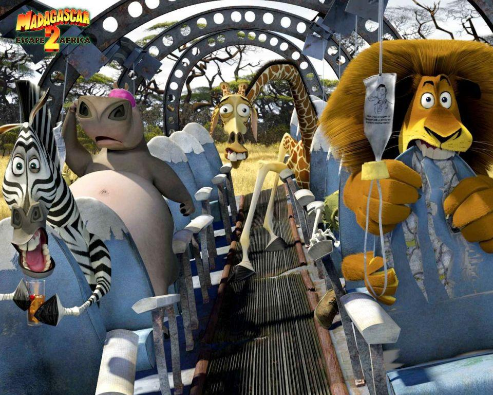 Madagascar 2 - fuga dall'Africa - Escape from Africa