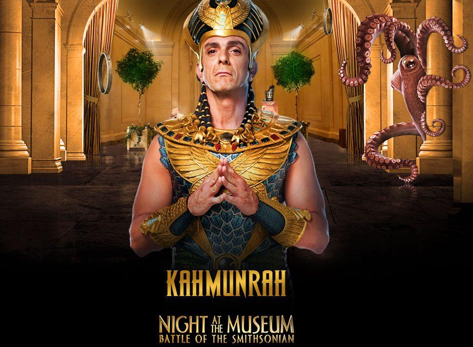 Una Notte al Museo 2 - Night at the Museum 2 - Smithsonian - Kahmunrah