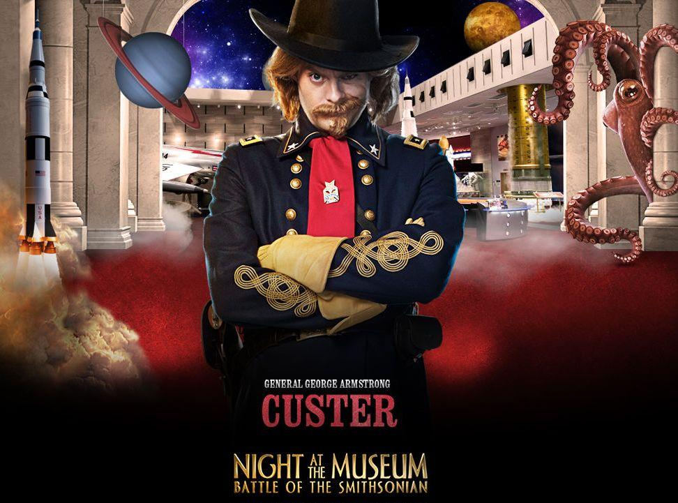 Una Notte al Museo 2 - Night at the Museum 2 - Smithsonian - General George Armstrong Custer