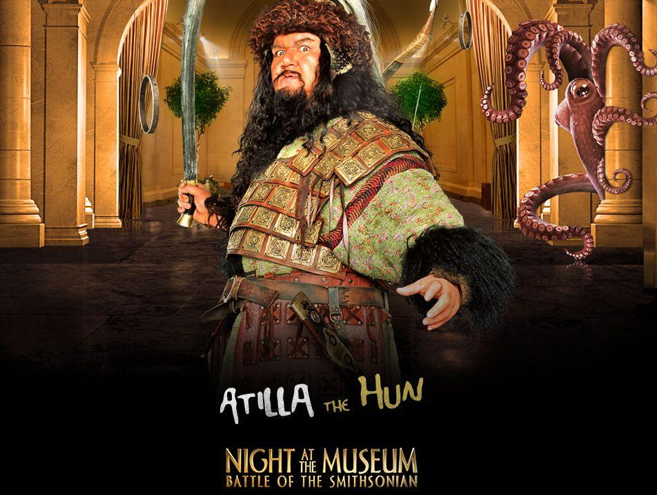 Una Notte al Museo 2 - Night at the Museum 2 - Smithsonian - Attila the Hun