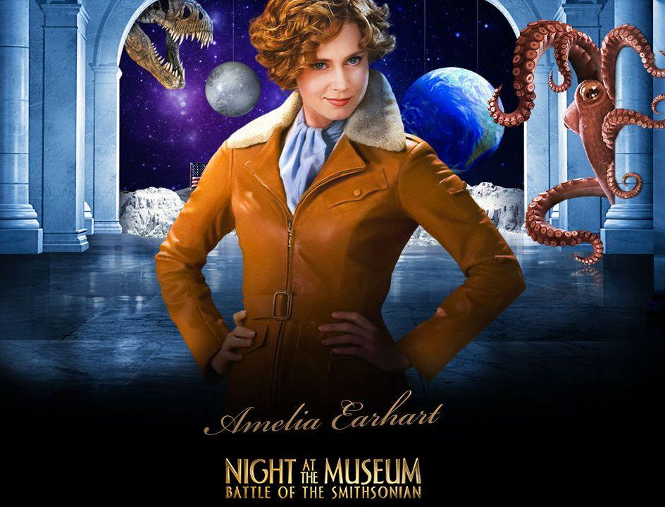 Una Notte al Museo 2 - Night at the Museum 2 - Smithsonian - Amelia Earhart