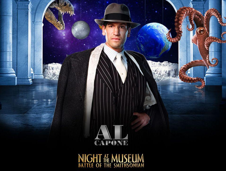 Una Notte al Museo 2 - Night at the Museum 2 - Smithsonian - Al Capone