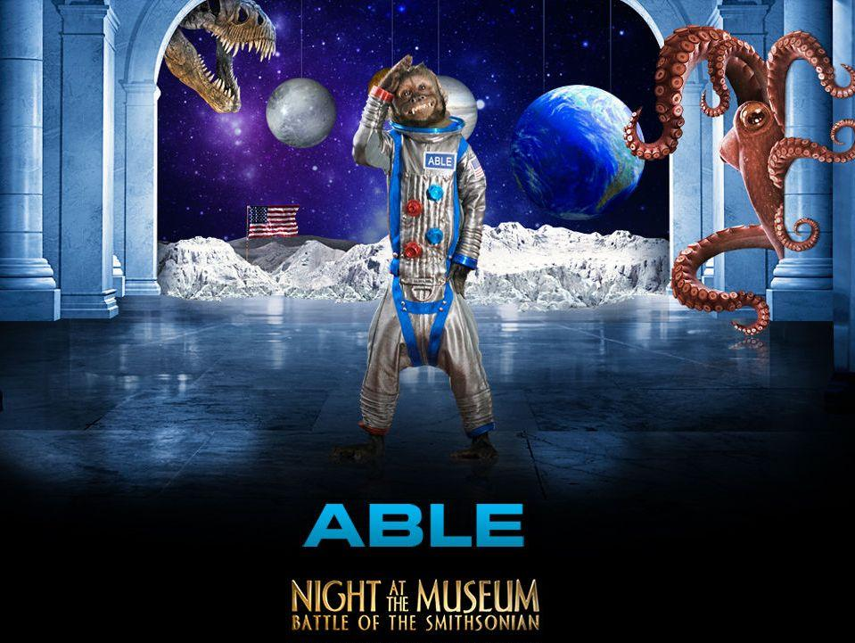 Una Notte al Museo 2 - Night at the Museum 2 - Smithsonian - Able