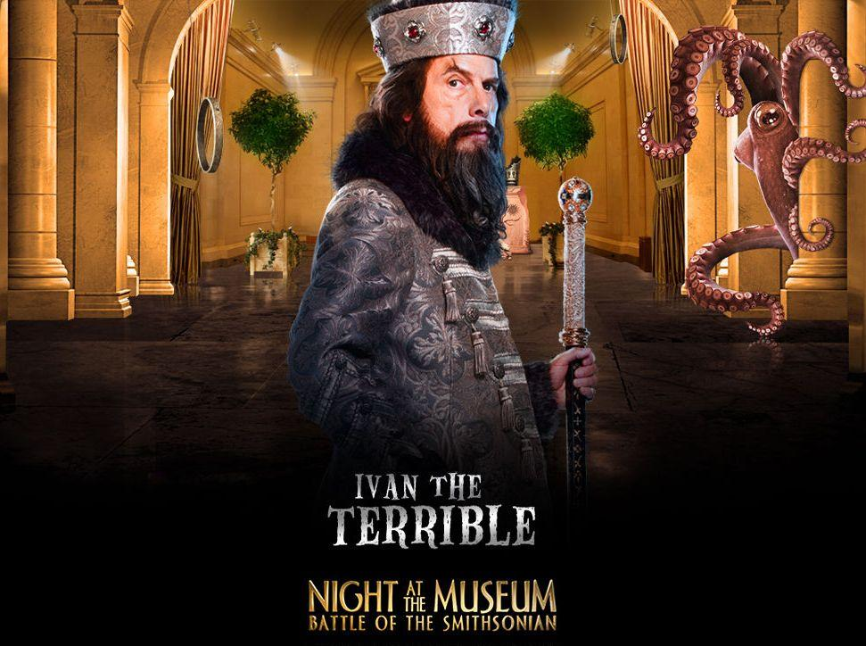 Una Notte al Museo 2 - Night at the Museum 2 - Smithsonian - Ivan the Terrible - Ibvan il Terribile