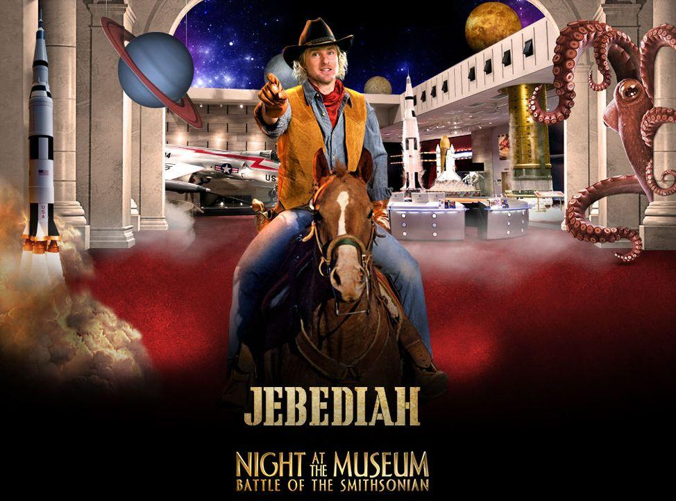 Una Notte al Museo 2 - Night at the Museum 2 - Smithsonian - Jebediah