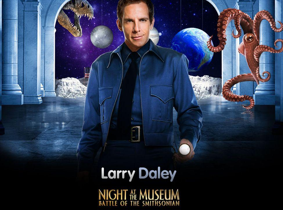 Una Notte al Museo 2 - Night at the Museum 2 - Smithsonian - guardian - guardiano - Larry Daley
