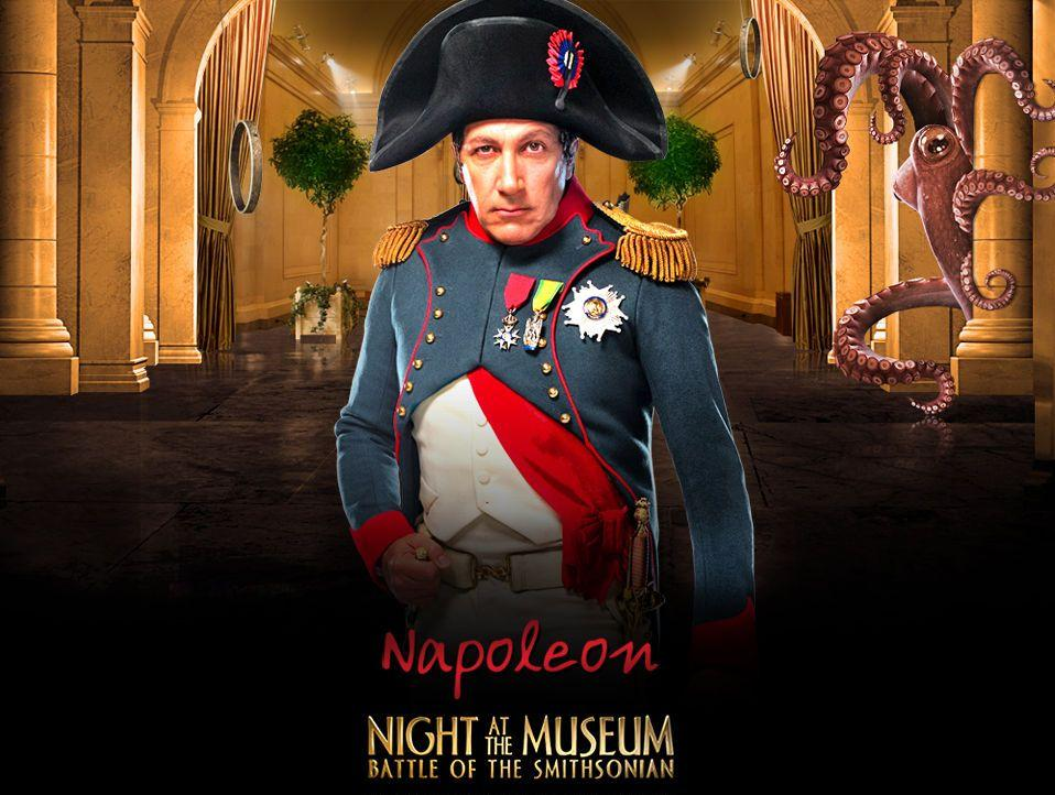 Una Notte al Museo 2 - Night at the Museum 2 - Smithsonian - Napoleon - Napoleone