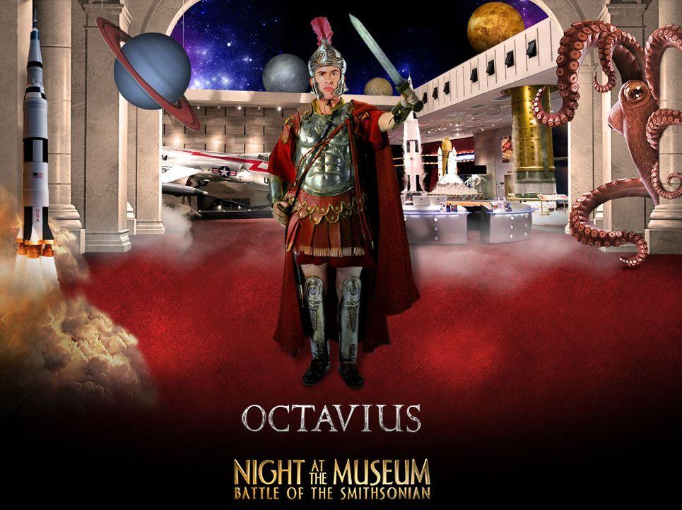 Una Notte al Museo 2 - Night at the Museum 2 - Smithsonian - Octavius