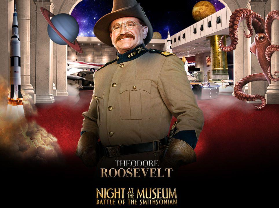Una Notte al Museo 2 - Night at the Museum 2 - Smithsonian - Theodore Roosevelt