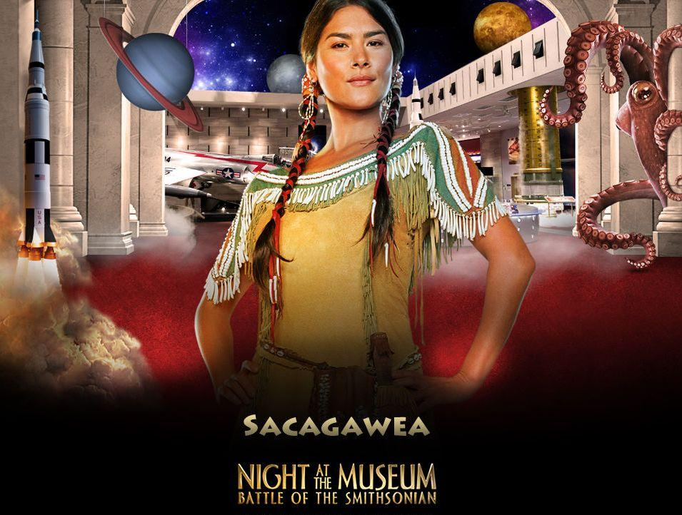 Una Notte al Museo 2 - Night at the Museum 2 - Smithsonian - Sacagawea