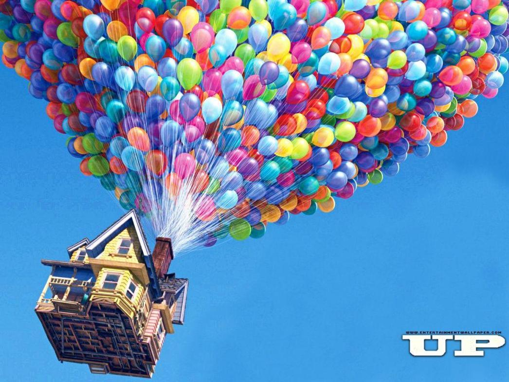 Up (Disney) - house - Casa