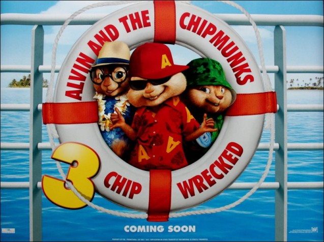 Alvin Superstar 3 (Alvin and the Chipmunks 3) - Chip Wrecked