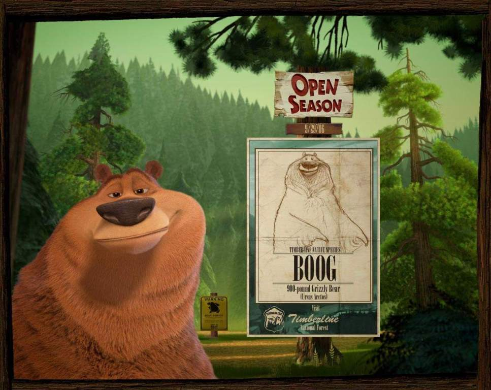 Boog (Open Season) - Orso - Bear