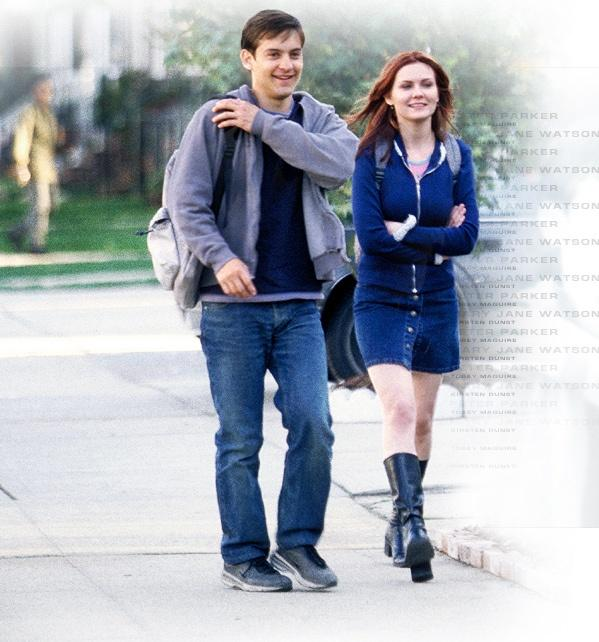Peter Parcher e Mary Jane Watson