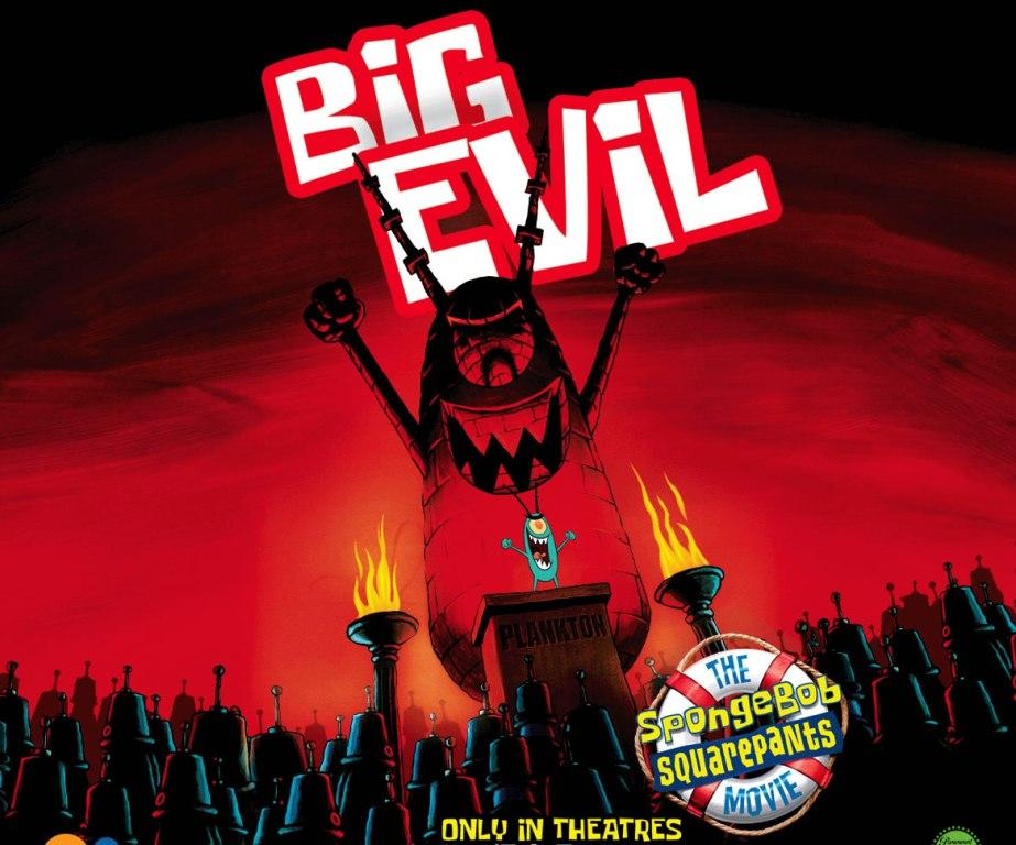 Spongebob il Film (Big Action) - Big Evil - Tanta Cattiveria- Plancton