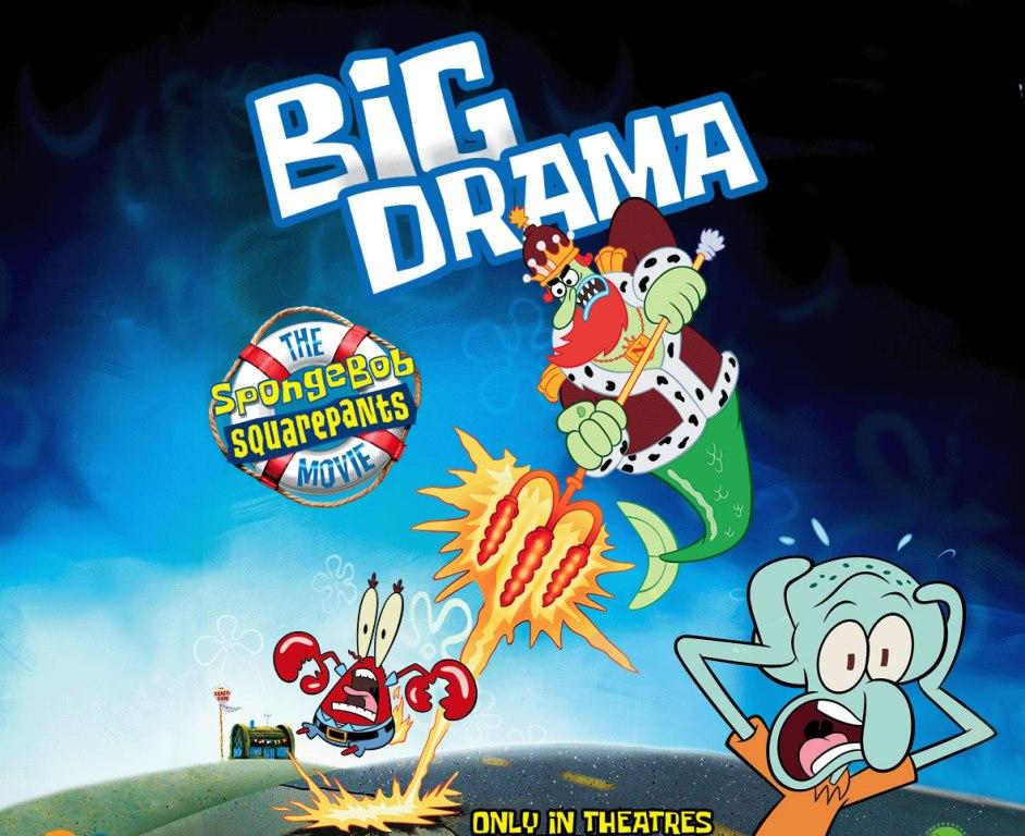 Spongebob il Film (Big Action) - Big Drama - Dramma e Patos