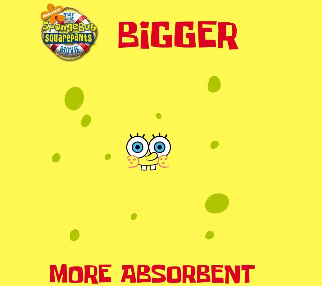 Spongebob il Film (Big Action)  - Bigger and more Assorbent - Ancora più Assorbente !..