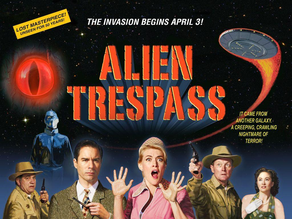 Alien Trespass - trash