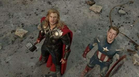 Avengers - Vendicatori - Captain America - Thor