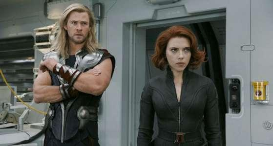 Avengers - Vendicatori - Black Widow - Vedova Nera - Thor