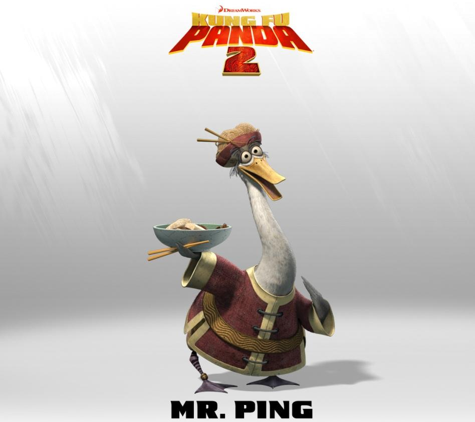 Kung Fu Panda 2 - Mister Ping Padre di Po - Father of Po - The Cheff - Cuoco