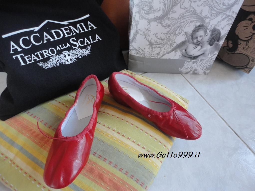 Scarpette Danza Rosse - Chaussures Rouges de Danse - Dance Red Shoes - Zapatos Rojos de Baile